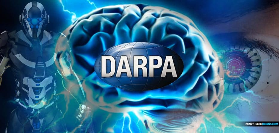 DARPA brain machine interface to connect your brain to a computer