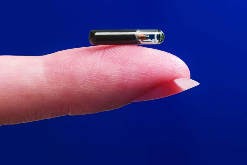RFID-chip size