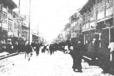 Het straatbeeld wat de kinderen zagen was voor hen minder scherp dan het straatbeeld van het nieuwe Jeruzalem.