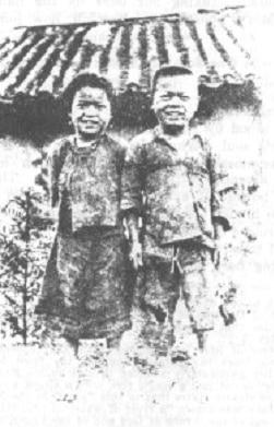 Twee jonge gelovigen