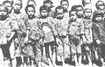 Chinese bedelaarsjongens die een thuis vonden in het Adullam weeshuis