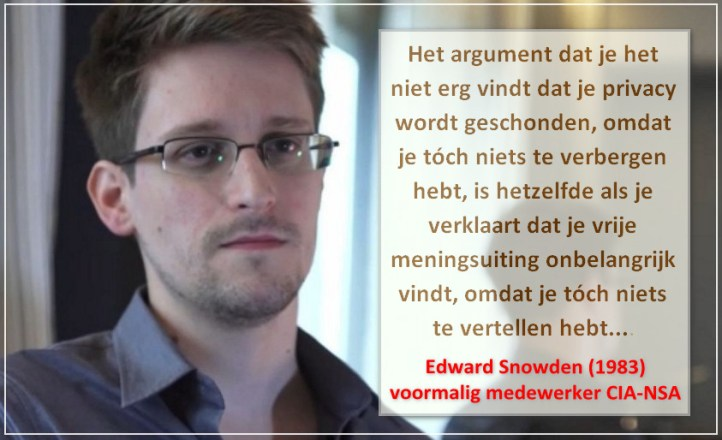 Edward Snowden on privacy