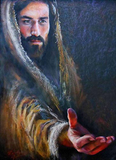Jesus says, Take my hand