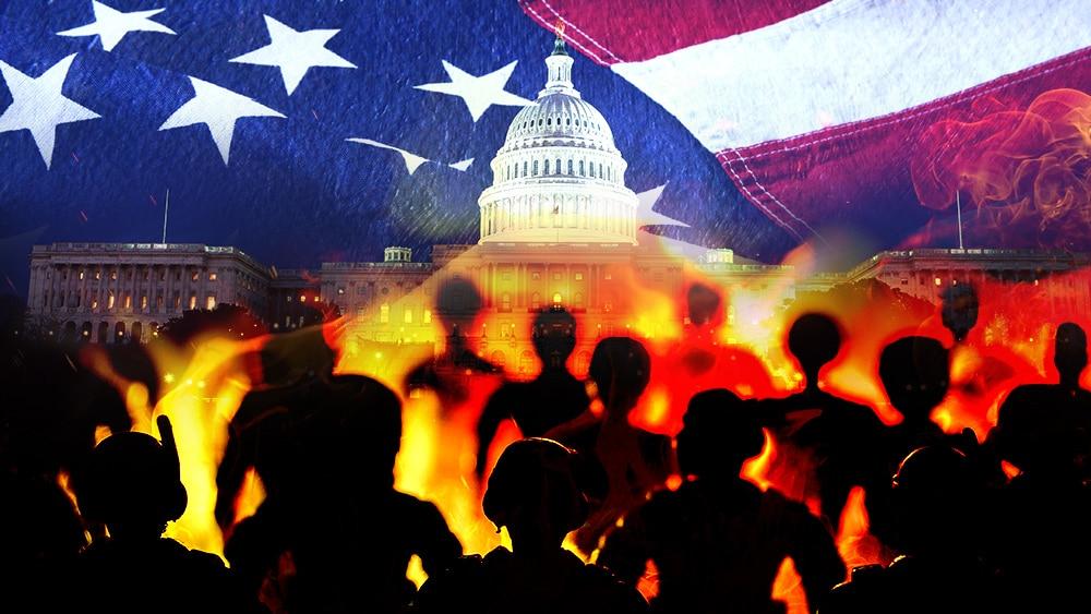 Riots Elections Washington, America