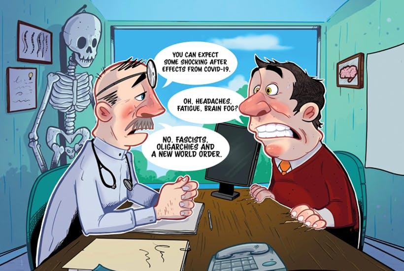 The Great Reset cartoon