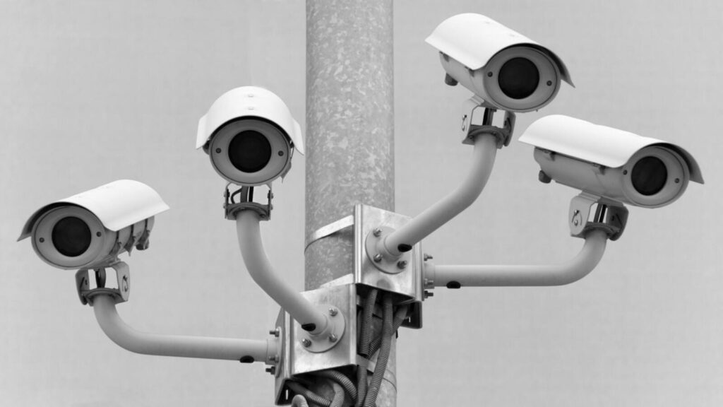 cameras watching you