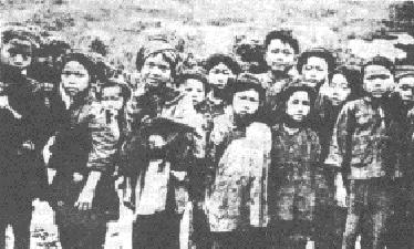 Kinderen uit stammen uit China