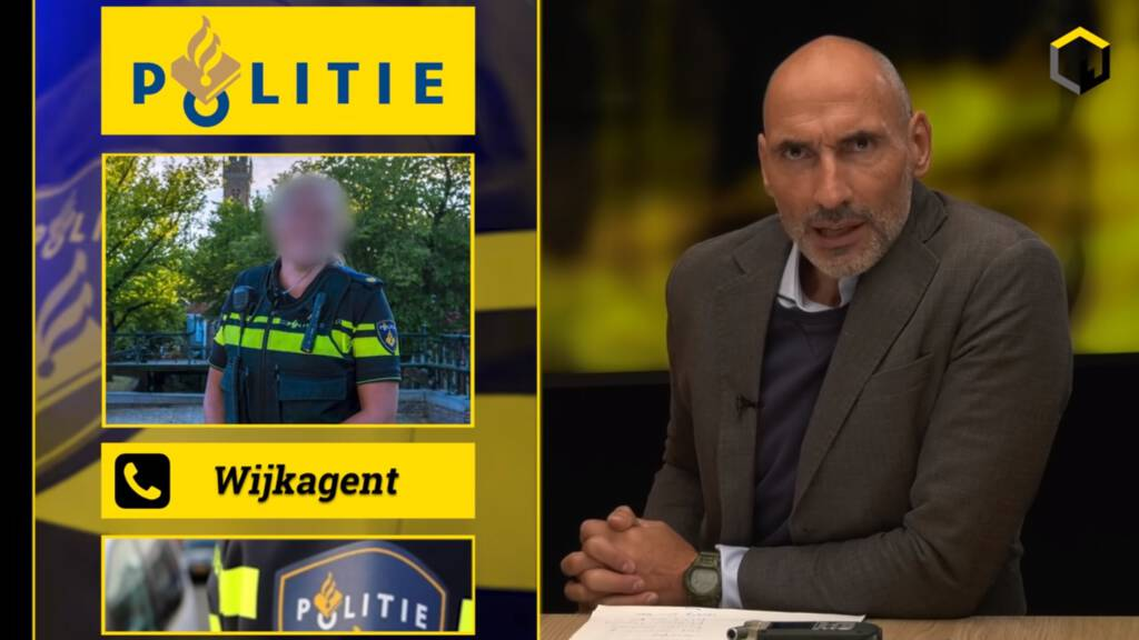 politie aan de deur vanwege een video