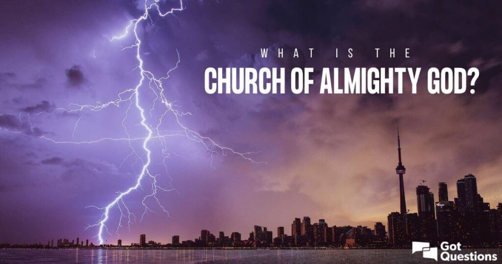 what is The church of almighty god