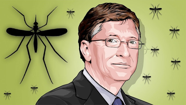 Bill Gates funded modefied engineered mosquitos into vaccinators