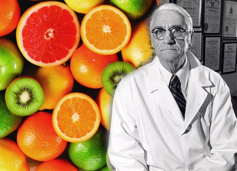 Dr. Frederick Klenner, high dosis vitamin C cure helps!