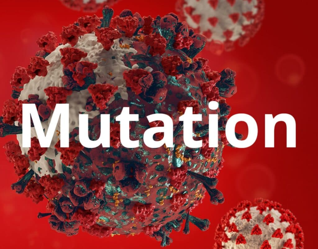 New mutation of Coronavirus COVID December 2020 in the UK