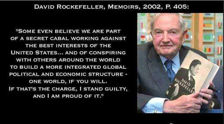 Rockefeller - secret cabal - Illuminati