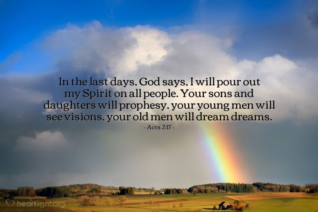 Acts 2, verse 17