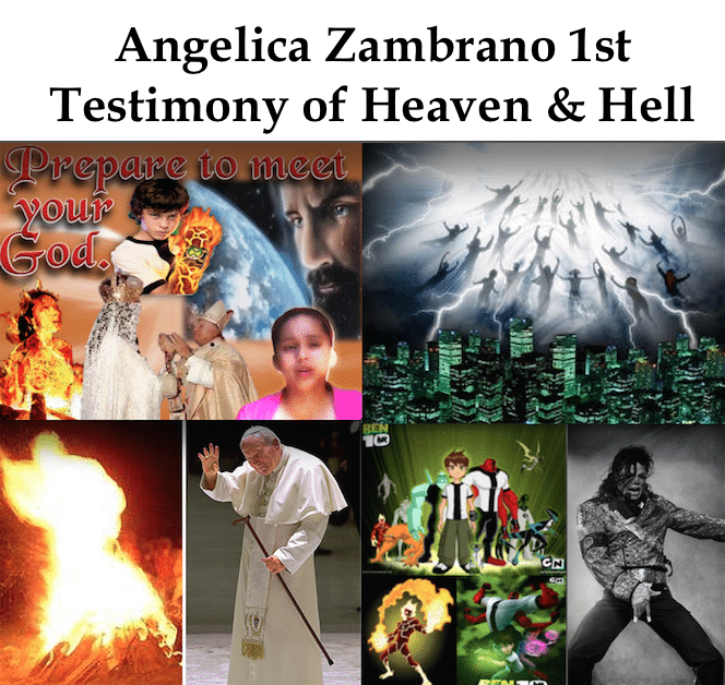 Angelica Zambrano 1st testimony of Heaven and hell - children in hell