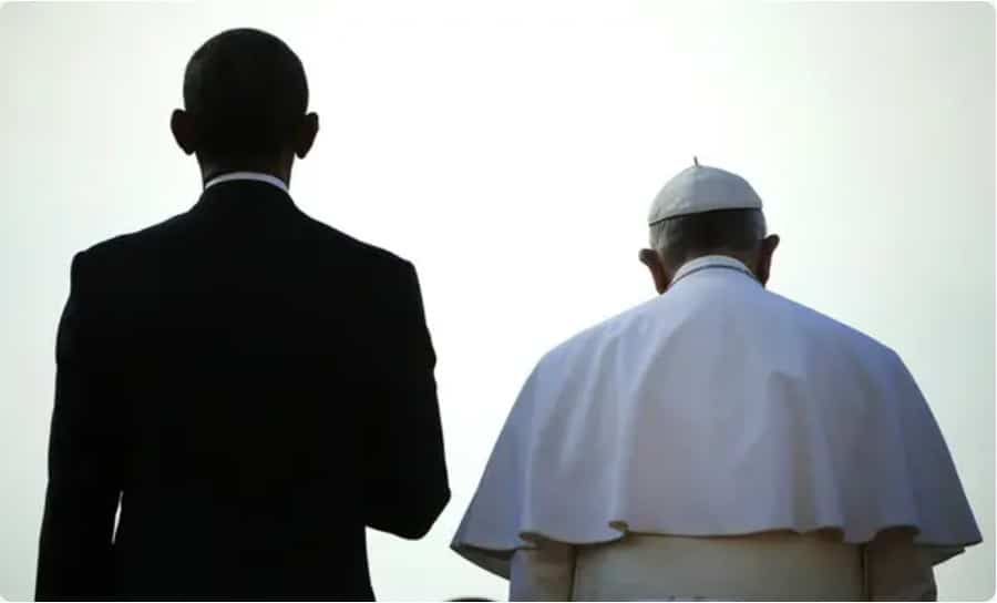 Antichrist Obama and the False Prophet Pope Francis