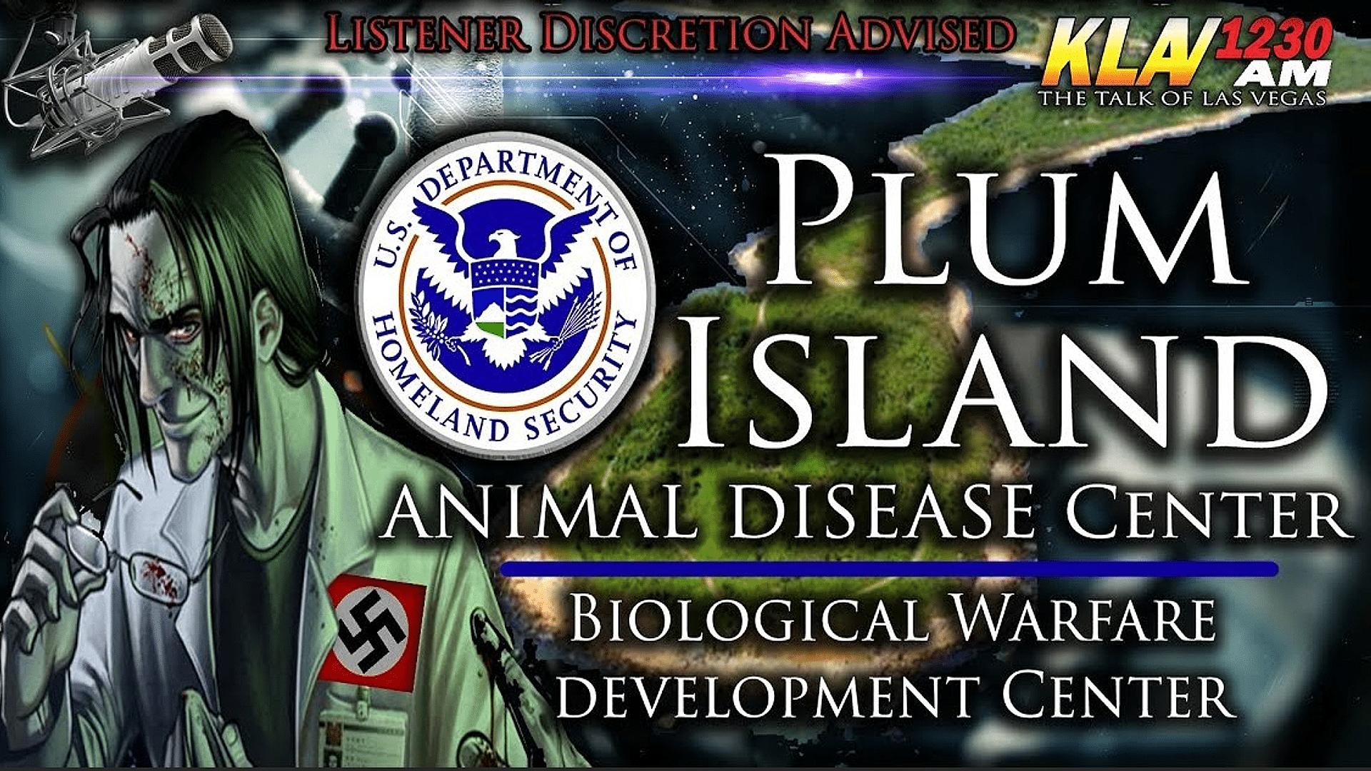 Plum Island, a biological warfare center