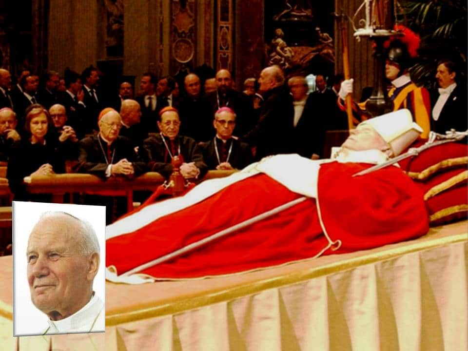 Pope John Paul II died and went to hell