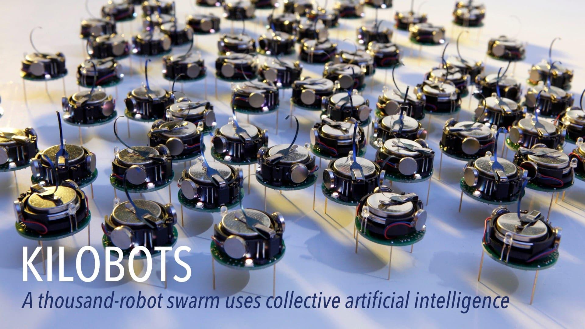 a thousand-robot swarm