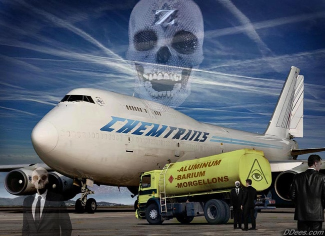chemtrails and airplane