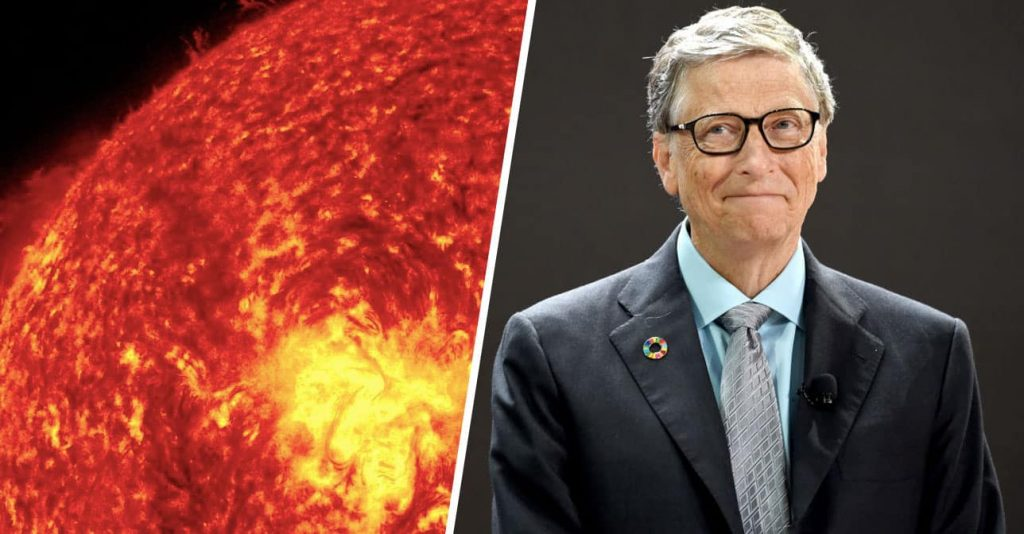 Bill Gates wants to block out the Sun