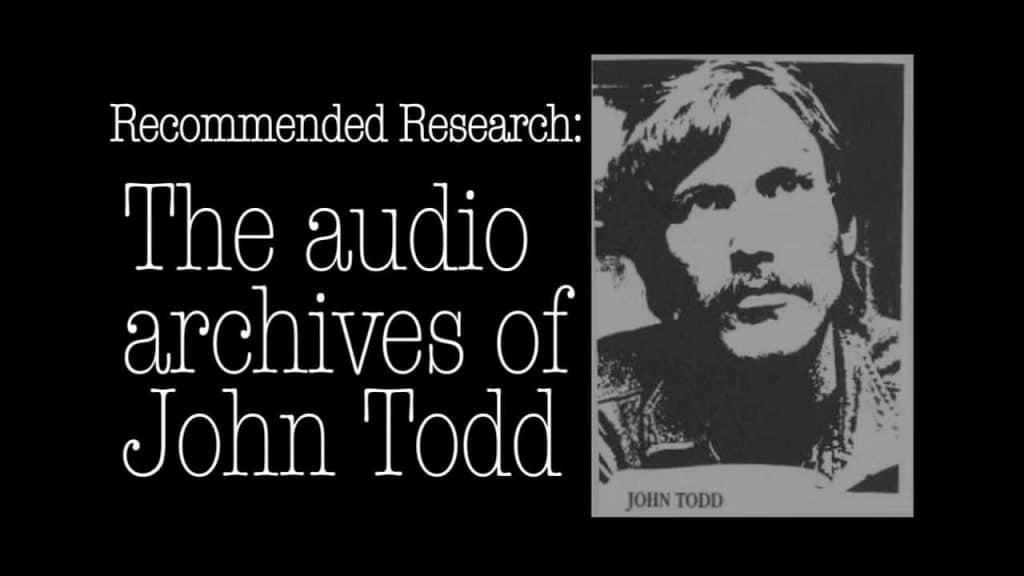 John Todd ex-Illuminati member