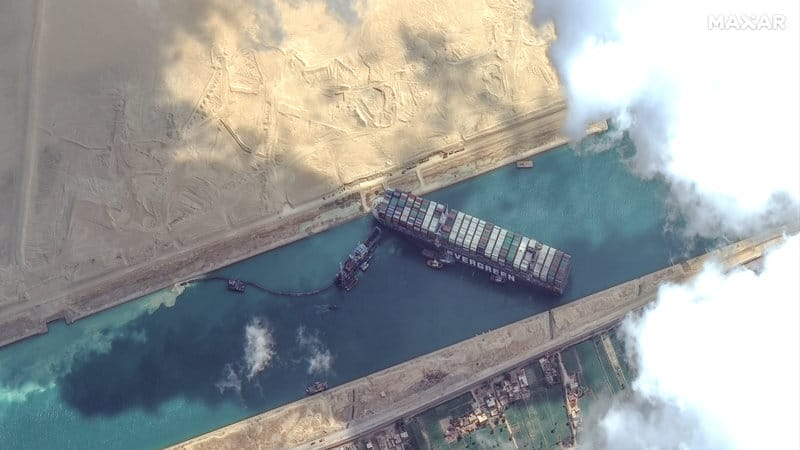 Shutdown Of The Suez Canal Might destroy The Global Economy