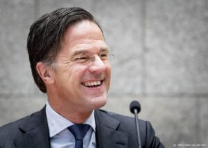 International Pandemic Treaty - President Mark Rutte grins