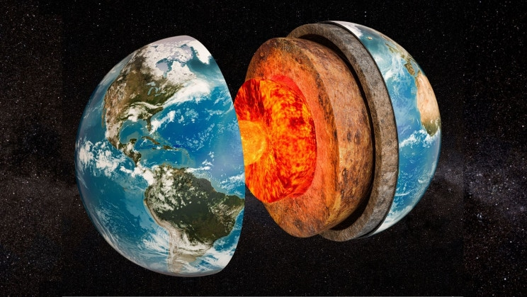 Scientists Discovered a Mystery Layer in Earth's Core, a new layer