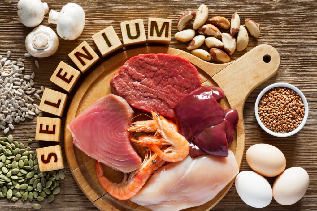 selenium helps to prevent cancer and COVID
