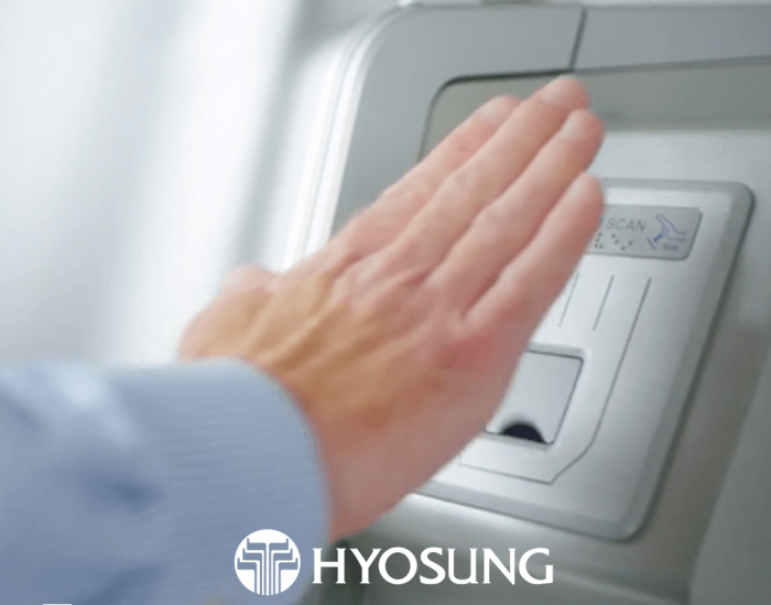 Hyosung's new ATM machines with PalmSecure Technology Mark of the Beast - RFID chip