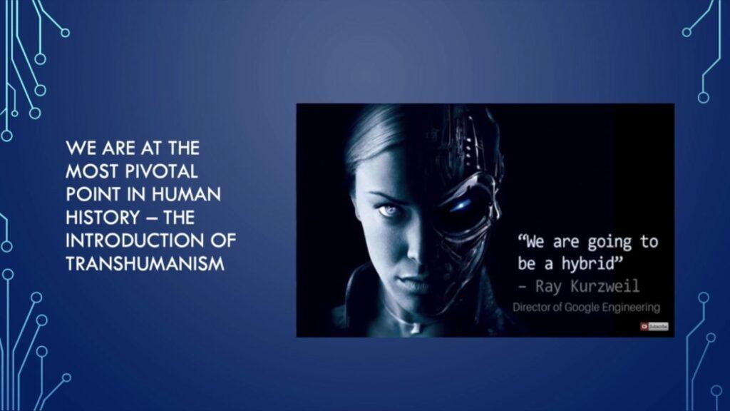 transhumanism - hybrid - Director of Google Engineering