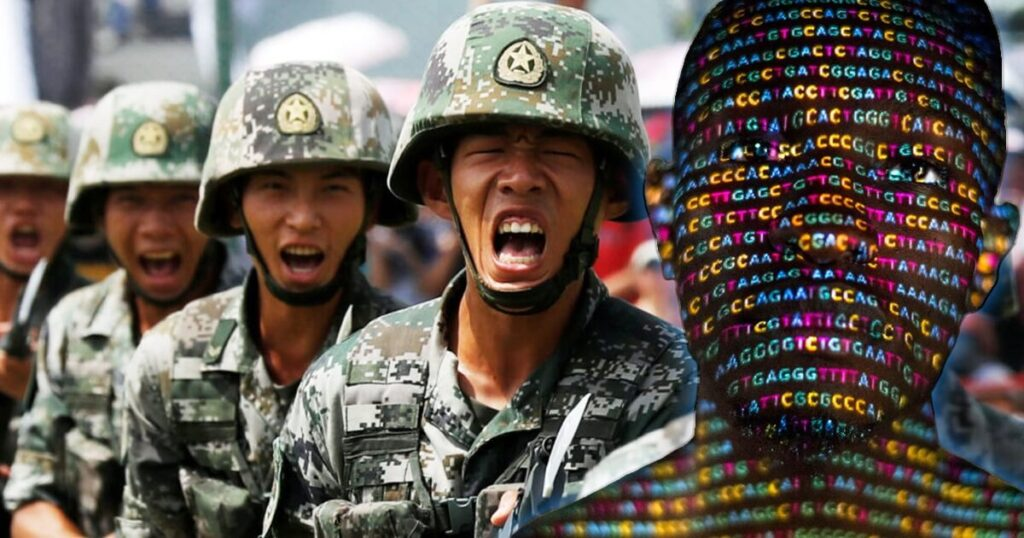 Chinese super soldiers