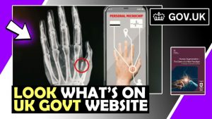 Look what's on the government website - RFID chip - Transhumanism