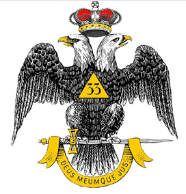 33 double headed eagle