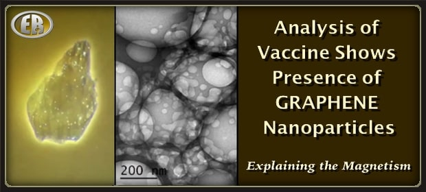 analysis of vaccine shows presence of Graphene Nanoparticles - explaining the magnetism