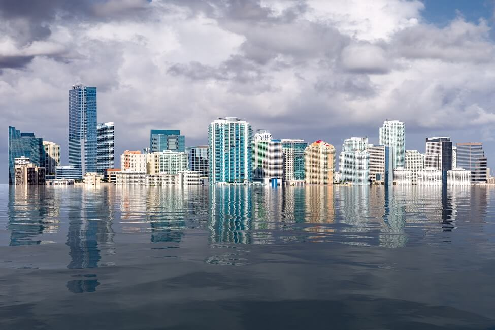 Coastlines Under Attack - Storm Surges and Sea Level Rise Artificially