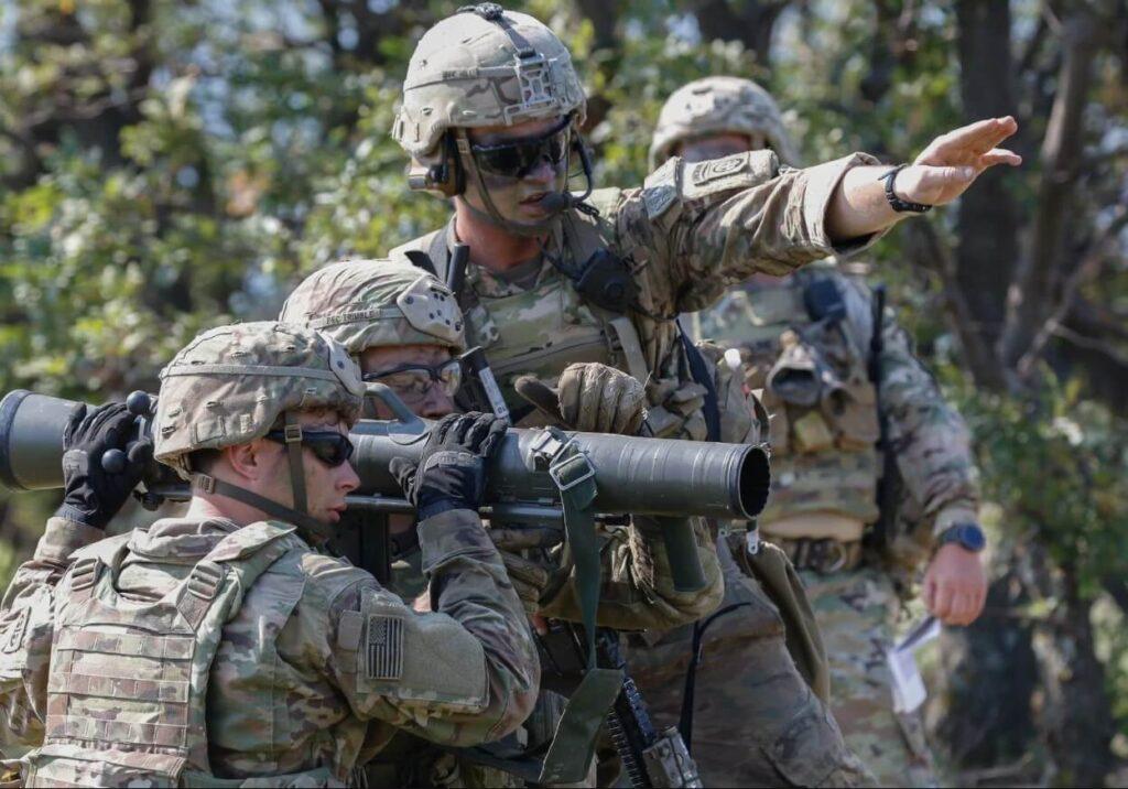 US Military warning