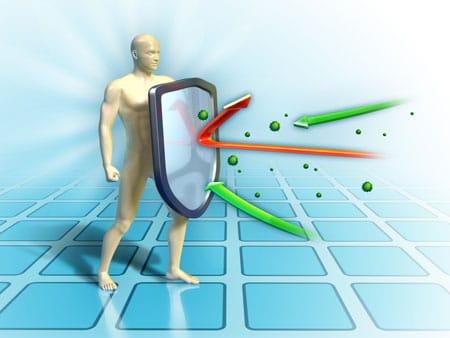 health and immunity - Antioxidants against graphene oxide