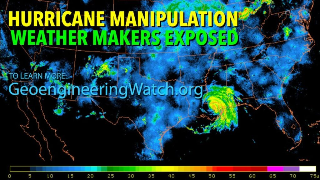 Hurricane manipulation and Weather makers exposed - Hurricane Ida satellite images