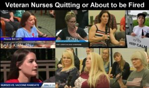 Millions of Veteran Nurses are Resigning or Being Fired Over COVID Vaccine Mandates
