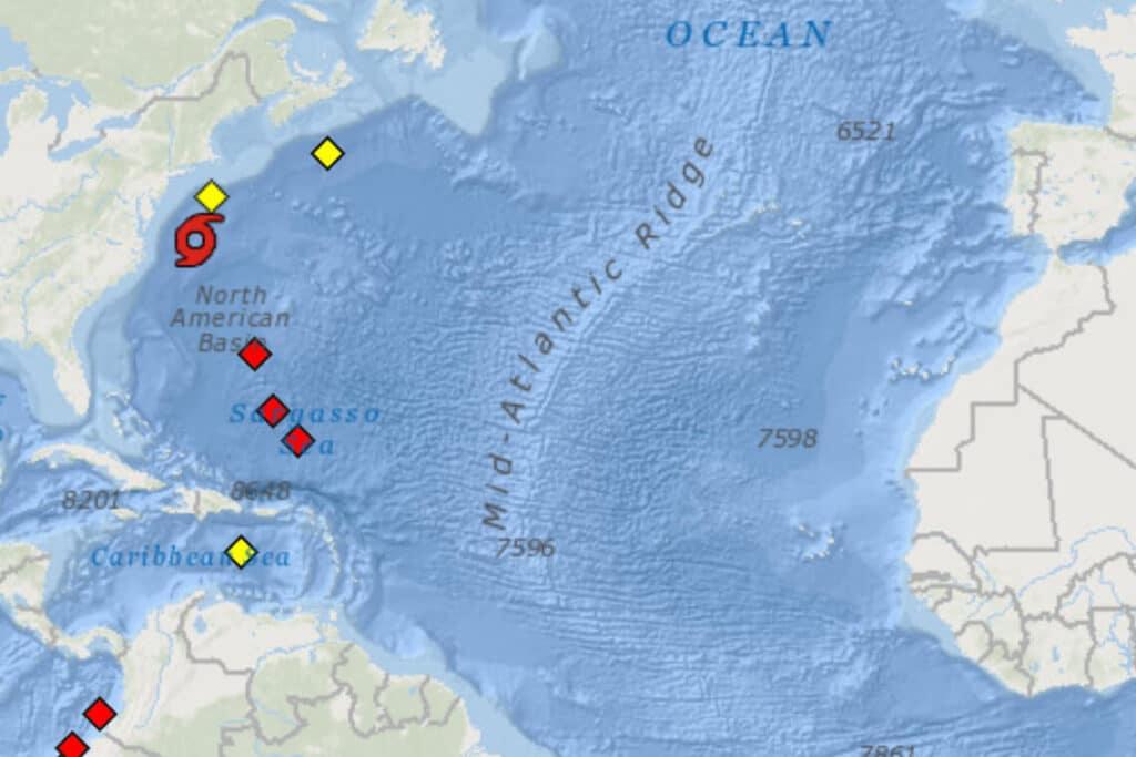 Most Tsunami Warning Buoys OFFLINE or Malfunctioning in Atlantic Ocean