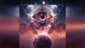 The Secret Covenant - Illuminati eye and earth