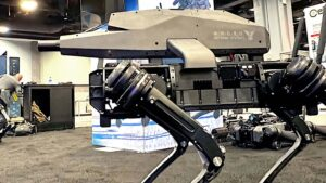 Ghost Robot Dogs Now Have Assault Rifles Mounted On Their Backs - killer bots